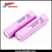 Bulk purchase tactical flashlight 18650 rechargeable battery, samsung sdi 18650-26f 2600mah keep power set