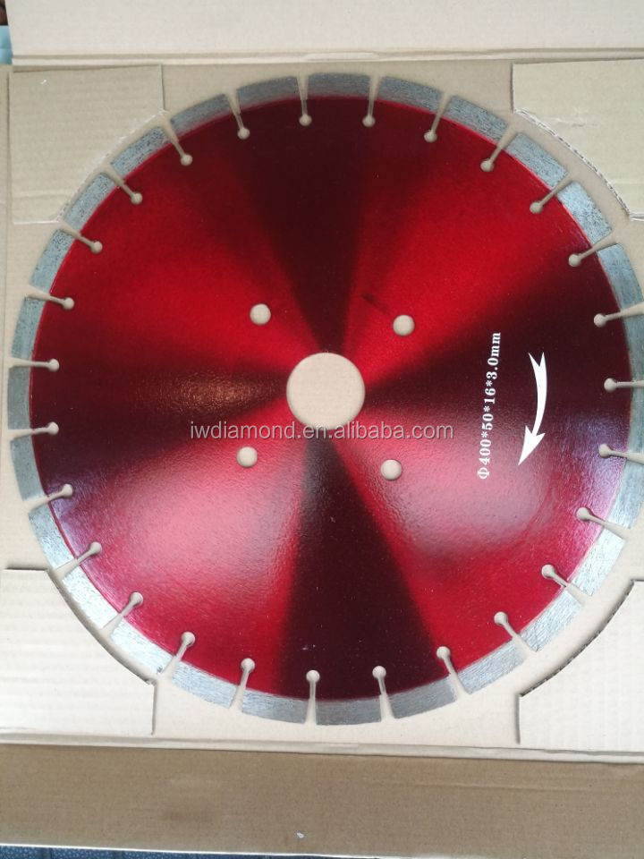 "350mm 14"" cutting disc diamond cutting saw blade for concrete and stone"