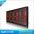 EUREKA 18''' RED LED GAS PRICE SIGN/OUTDOOR OIL PRICE SIGN/WATERPROOF DIGIT GAS PRICE SIGN