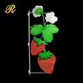 Christmas decorative LED strawberry motif lights