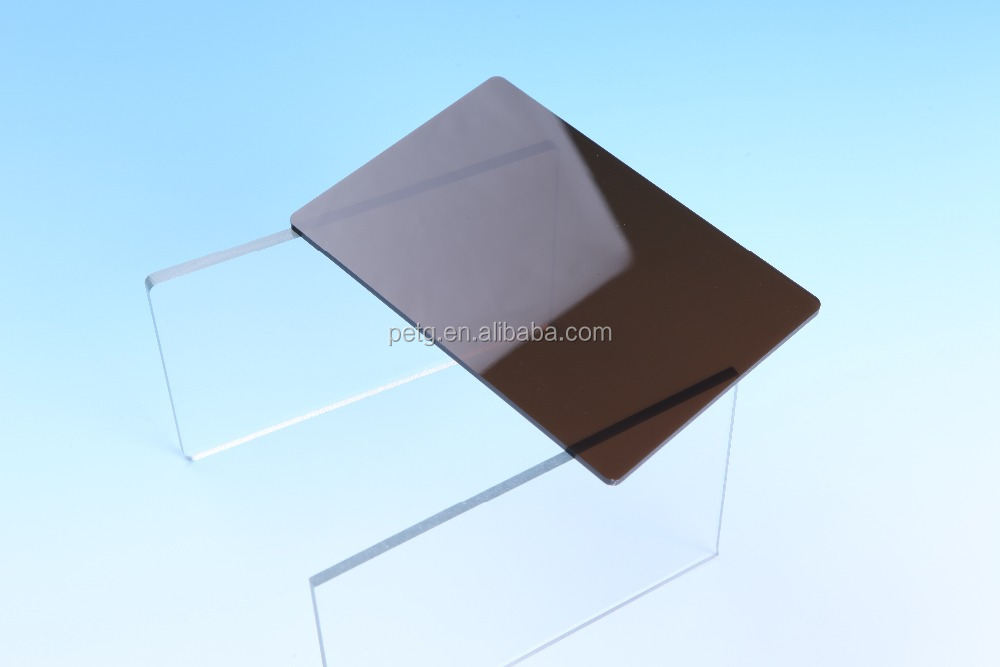 MY high quality clear PET sheet, good performance transparent PET rigid sheet for folding box