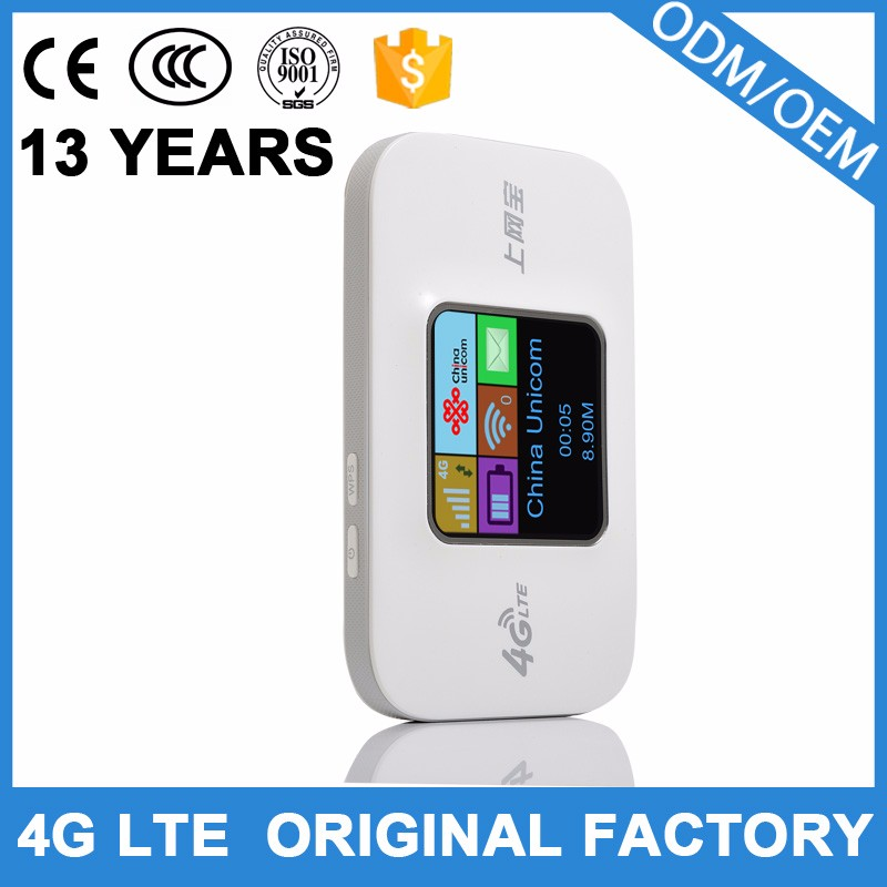 Best quality Portable 4g wireless router with sim card slot