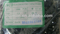 China Generator Electrolytic Capacitor 50v 3.3uf 5x11