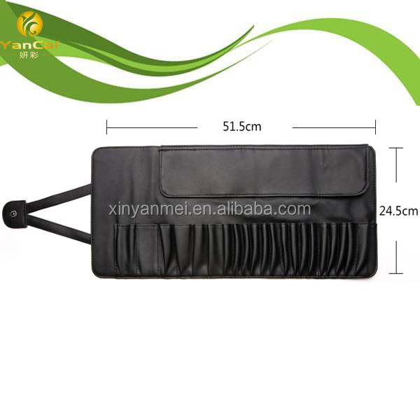 PU Leather Cosmetic Bag makeup brush case