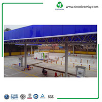 Mobile 1000Nm3h hydraulic CNG gas station