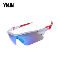 Free samples YNJN polycarbonate frame uv400 cycling sport sunglasses brand your own