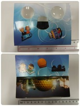 Custom Wholesale Christmas Promotional Paper 3D Stereo Viewer
