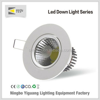 China supplier hotel linght shopwindow LED Recessed light supermarket LED downlight