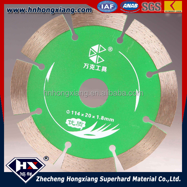 diamond cutting disc for concrete cut off saw 14inch etc
