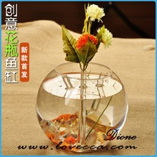 Factory direct decorative clear air plant hanging terrarium fish bowls plant terrarium