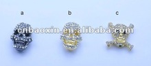 Fashion rhinestone shamballa beads in various colors