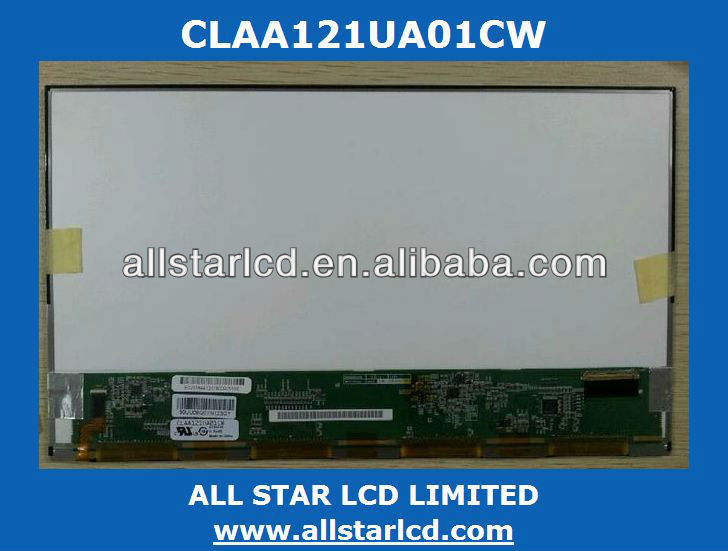 12.1'' LCD LED notebook display CLAA121UA01CW CLAA121WA01 CLAA121WA01A CLAA121XG01 CLAA121UA01CW IN STOCK