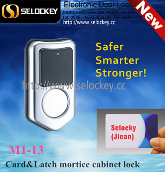 Hot Selling Waterproof Stainless Steel RFID Card Cabinet Lock/ spa, gym, swimming pool