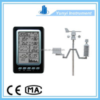 wireless weather station clock residential water meters