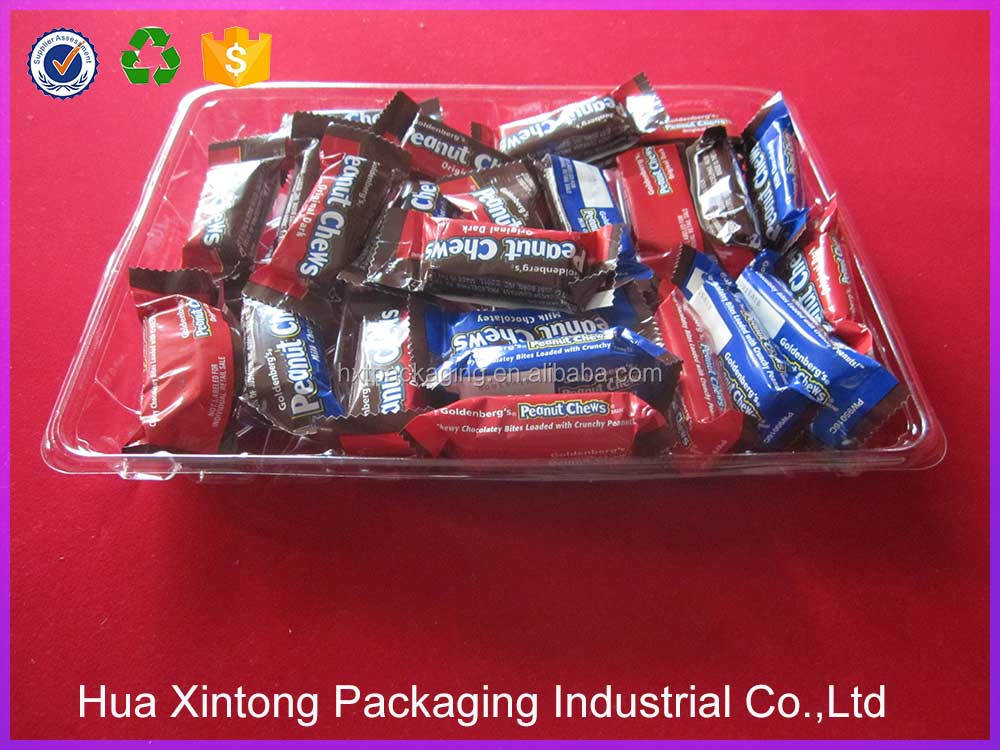 Wholesale plastic insert candy tray for tetail