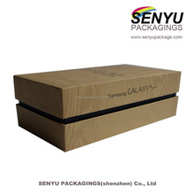 Different Types Cell Phone Flash Box Paper Packaging Box