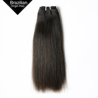 Unprocessed Free Tangle Silky Straight Virgin Remy Human Hair Weaving Extension
