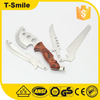 Wood handle ax Stainless steel multi knife hunting