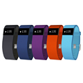 2016 fitness tracker silicone pedometer band 24h heart rate monitor smart bracelet for bodybuilding