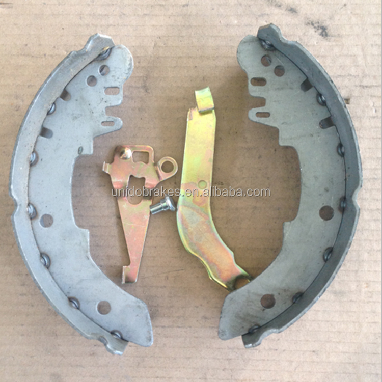 Stable performance ATE614 brake shoe brake lining backing plate