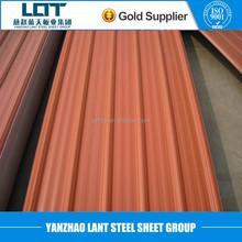 Corrugated GI galvanized/ GL galvalume coil steel roofing sheet good price from China factory supplier