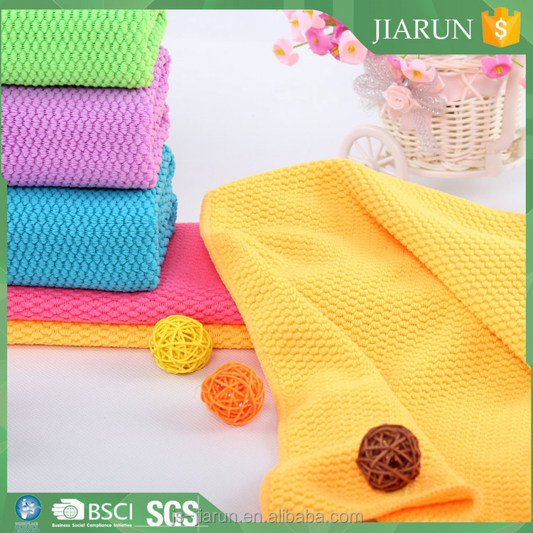 China supplier dish towel material/christmas tea towels wholesale