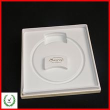 Cosmetics PVC flocking packaging tray