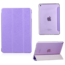 Slim-Fit Folio Smart Cover with Back Case for Apple iPad air/pro/mini