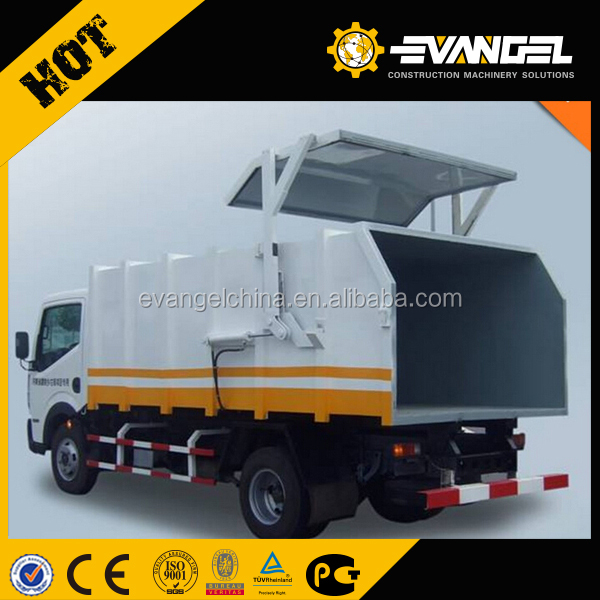 Dongfeng howo 4*2 small garbage truck