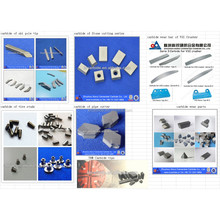 Good quality tungsten carbide components customized from Zhuzhou manufacturer