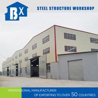 Fewer Materials High Quality Longer Service Life Prefab Work Shop