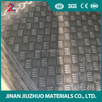 golden supplier aluminum checkered embossed sheet / plate weight price