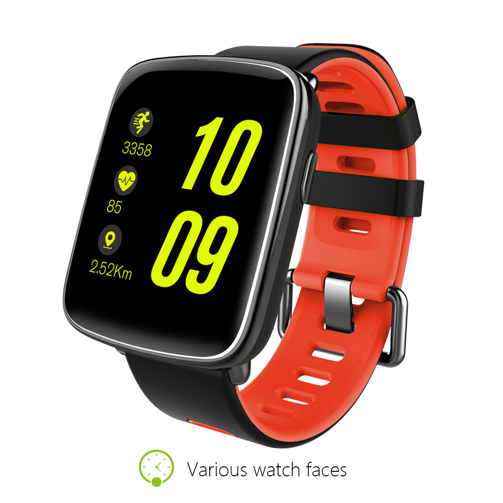 GV68 MTK2502D IPS full review 1.22inch TFT Capacitive touch screen IP67 water proof BT4.0 Smat watch bluetooth smart watch 2017
