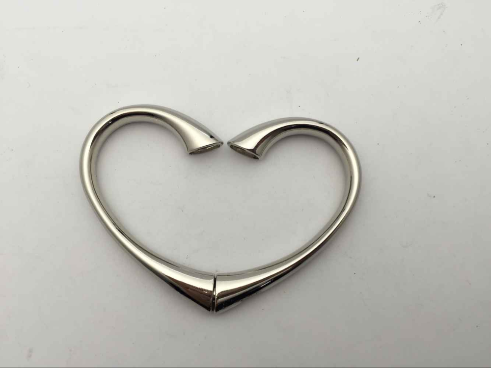 Promotional heart shape Purse Hanger /heart silver bracelet bag hanger hook / table top bag hanger gold, silver copper color