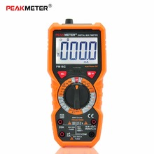 Professional 6000 counts PM18C Handheld small Multimeter