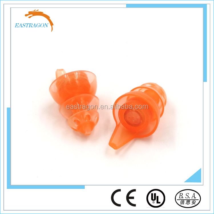 Protection Ears Hearing Bulk Washable Silicon Earplugs