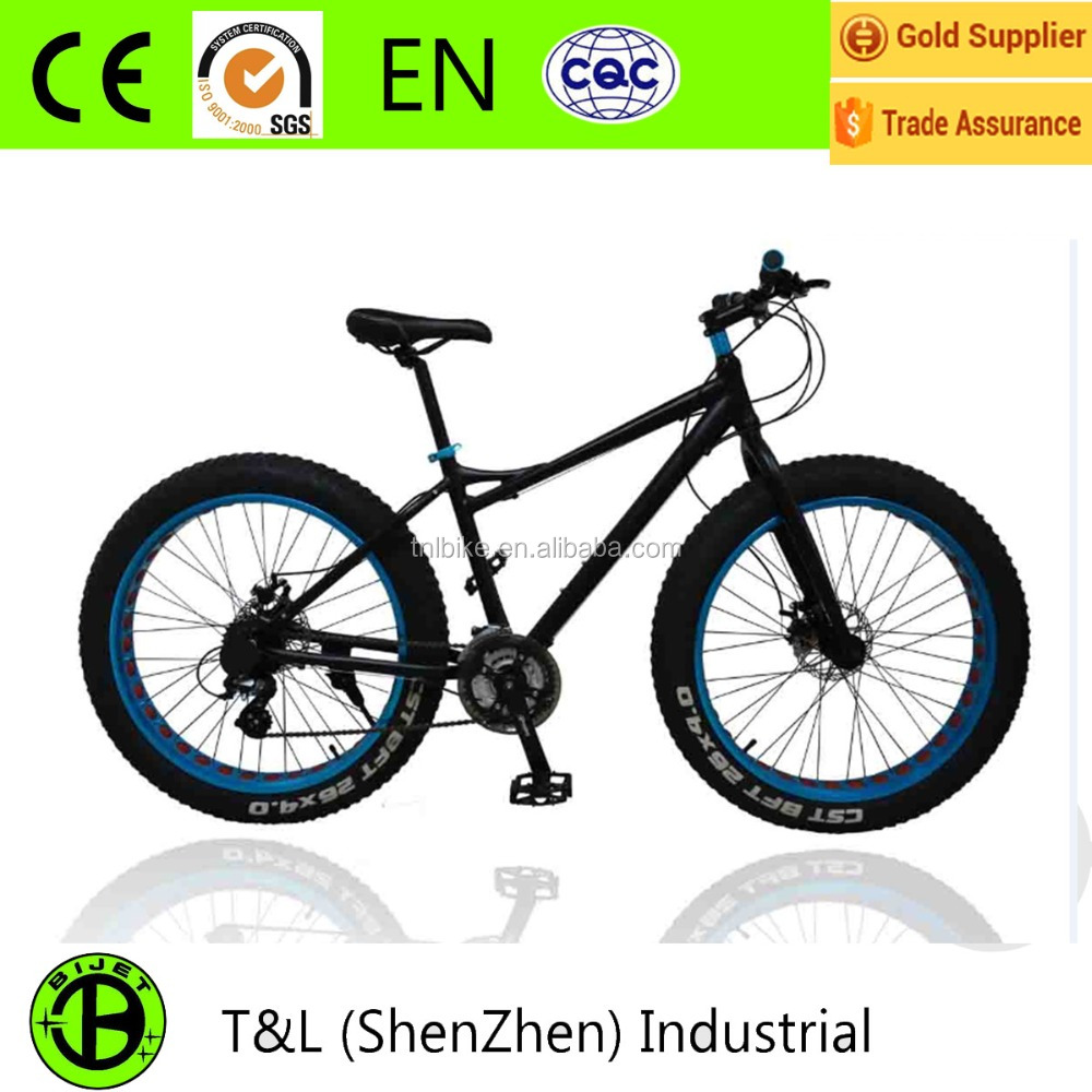 BIJET Quality Beach Cruiser Big Tire Road Bike Snow Bike Fat Bike