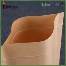 French bread or loaf bread packaging wax lined paper bags with window