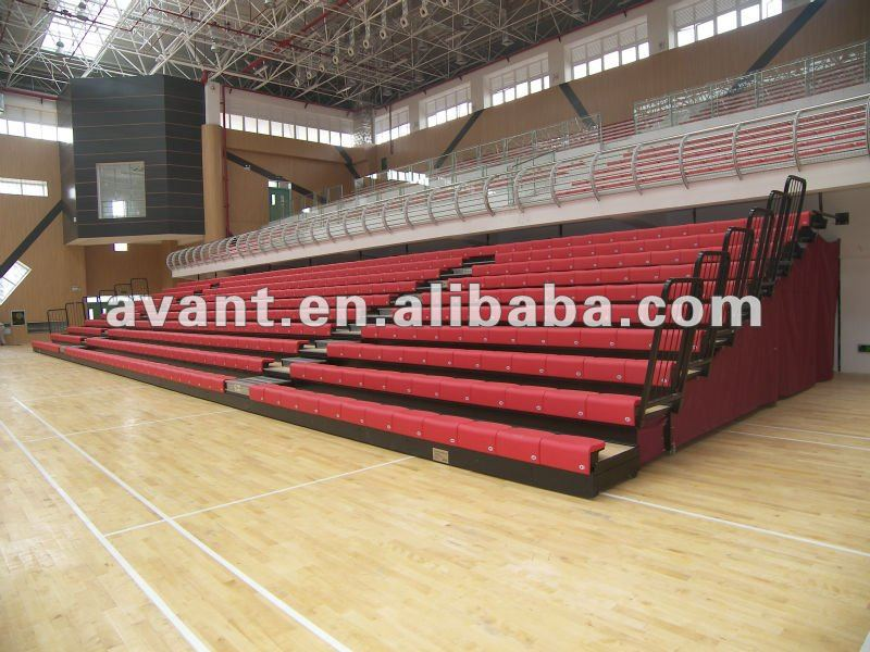 Retractable seating retractable seat tribune university seating football chairs for stadium bench tribune systerm
