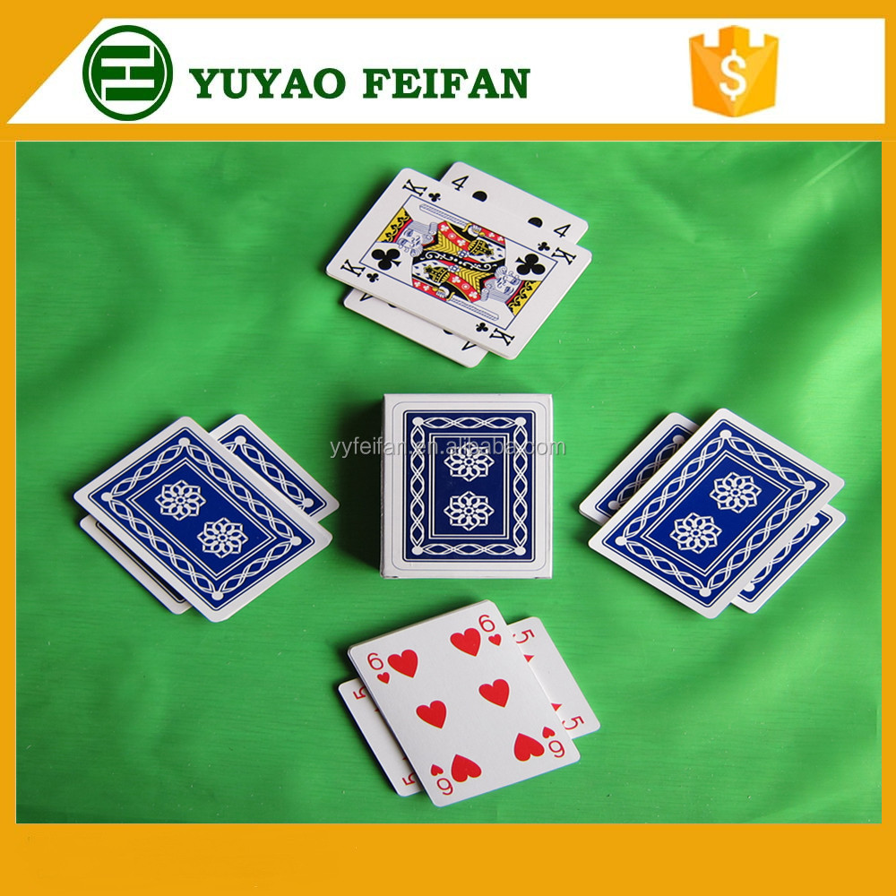 Hot selling marked playing cards manufacturer playing cards