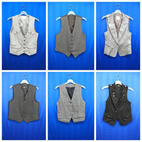 USED CLOTHES : VEST(SUIT VEST FOR MEN AND WOMEN)