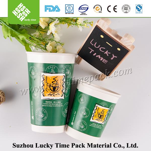 Customed design paper wholesale foam coffee cups