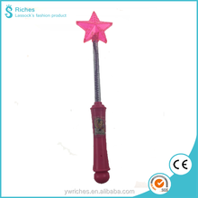 Yiwu Riches Plastic Lovely Hand Kids Magic Star wand, Lovely Kids Toys for Cosplay