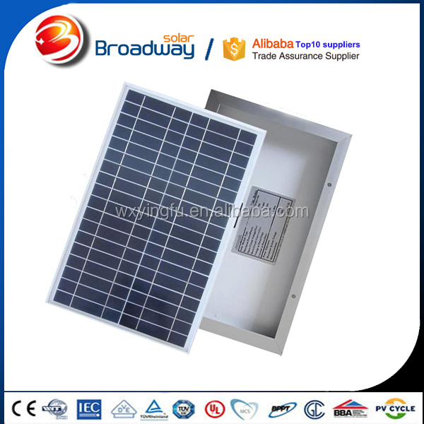 Small size solar panel 50w 80w 100w 200w 220w poly and mono solar panel for 2kw solar power system