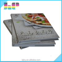 2016 new design cook book printing service from China