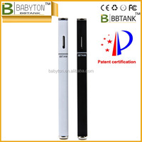 Shenzhen China supplier Newest BBTANK starter kit vape pens with copper mouthpiece, disposable glass fiber wick THC oil atomizer
