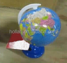 Stationery Globe Type Plastic Pencil Sharpener Best For Student