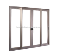 Picture aluminum sliding door with fly screen design for home balcony
