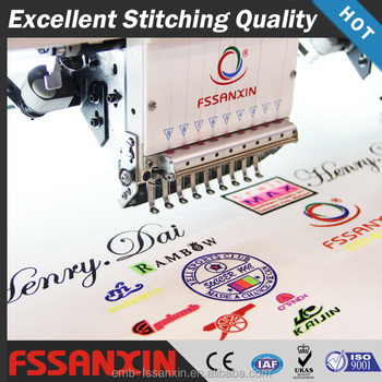 20 heads 9 needles high quality same as tajima automatic embroidery machine with good sale in Kenya