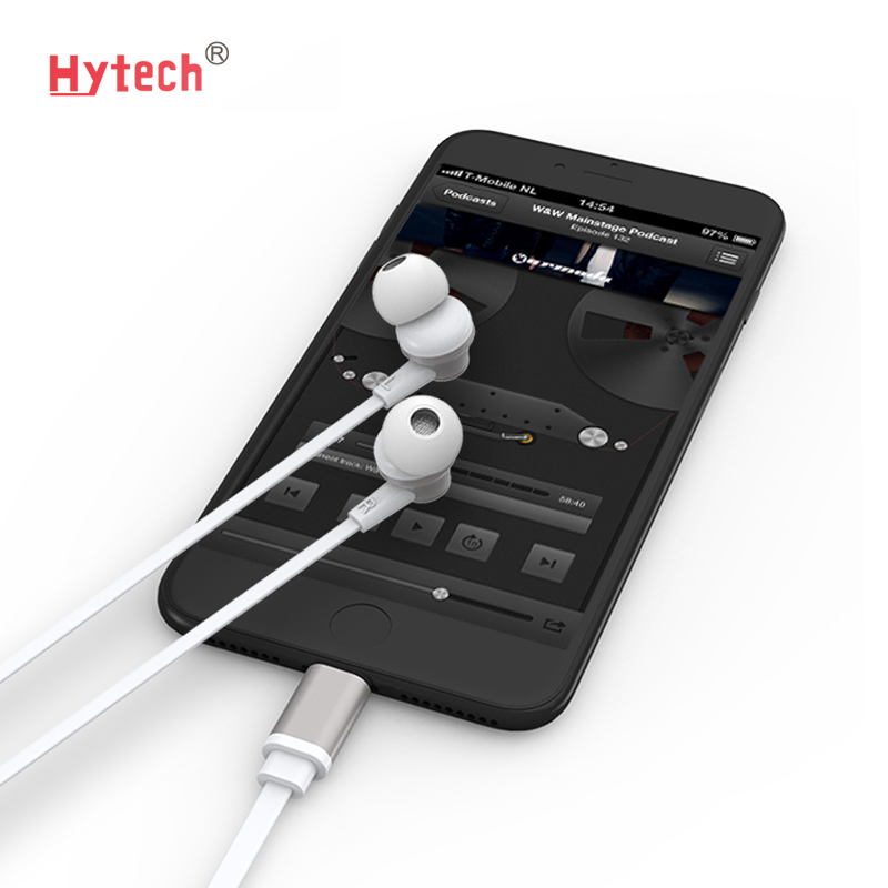 AP-03 OEM accept high <strong>quality</strong> MFi digital stereo earphone for iPhone 8